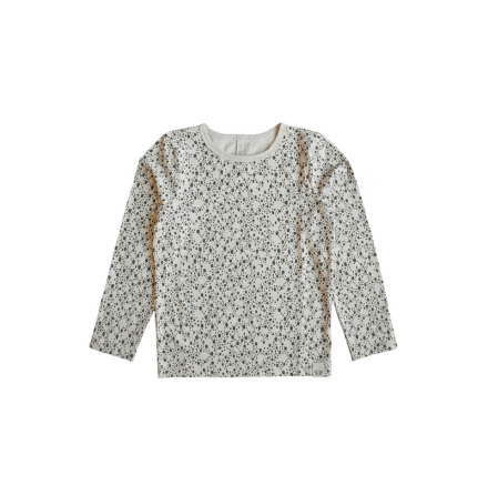 By Heritage Loa Top Print Offwhite