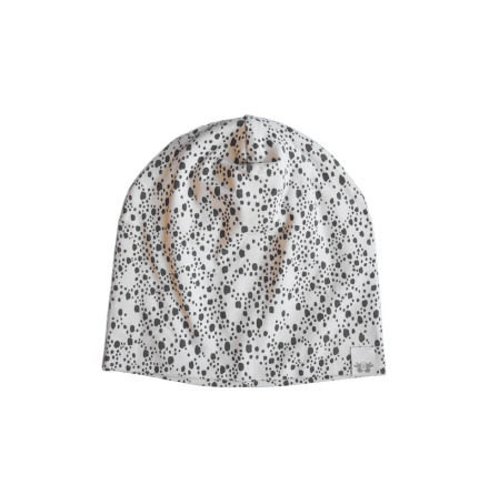 By Heritage Kerstin Beanie Print Offwhite