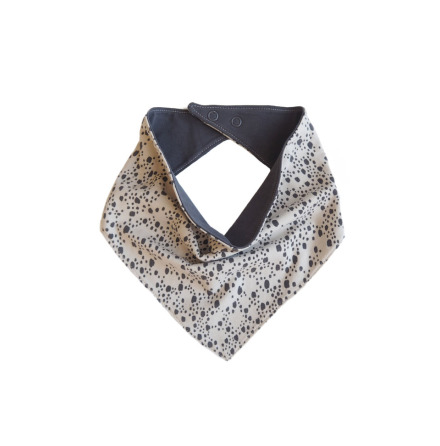 By Heritage Svante Scarf Print Offwhite