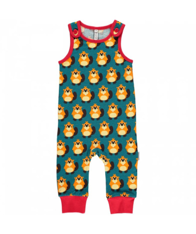 Maxomorra Playsuit Beaver