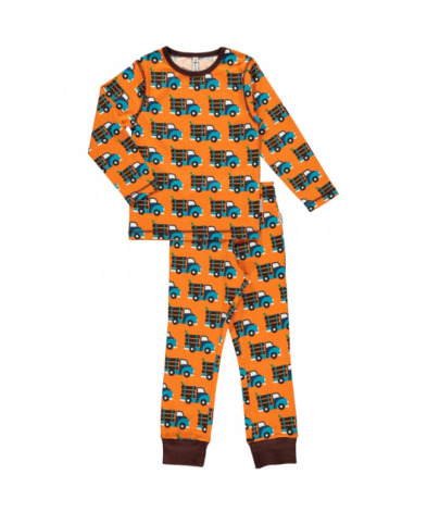 Maxomorra Pyjamas Set LS Log Truck
