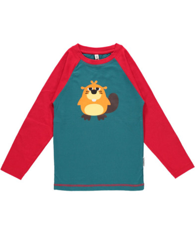 Maxomorra Top LS Beaver
