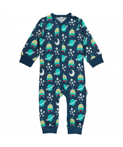 Maxomorra Pyjamas LS Spaceship