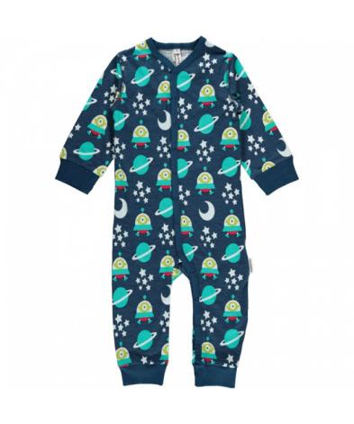Maxomorra Pyjamas LS Spaceship