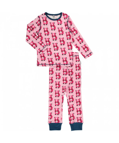 Maxomorra Pyjamas Set LS Unicorn