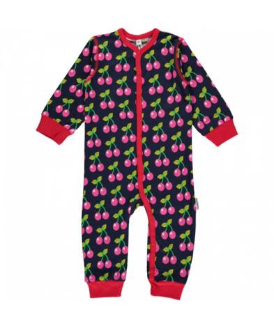 Maxomorra Pyjamas LS Cherry