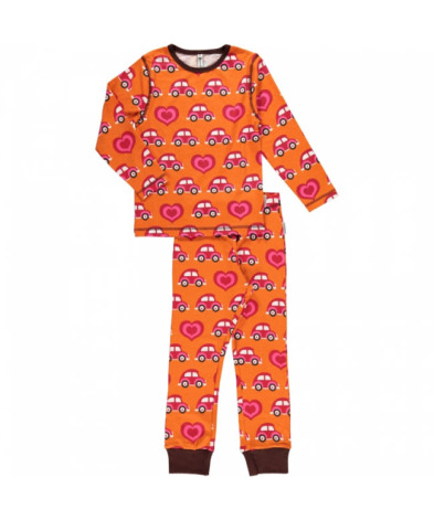 Maxomorra Pyjamas Set LS Car