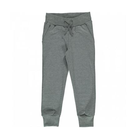 Maxomorra Pants Velour Grey