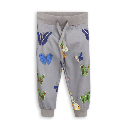 Mini Rodini Butterflies Sweatpants Dark Grey