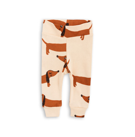 Mini Rodini Dog NB Leggings Beige