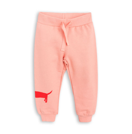 Mini Rodini Dog Sweatpants Pink