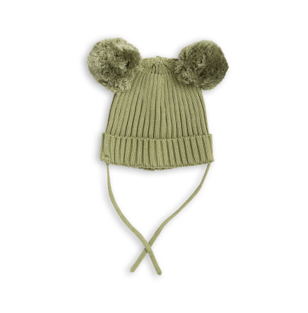 Mini Rodini Ear Hat Green