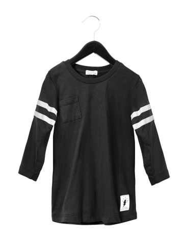 Civiliants Baseball T-shirt Black