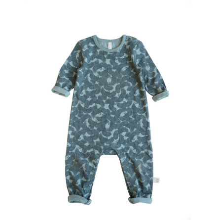 By Heritage Oskar Playsuit Petrol