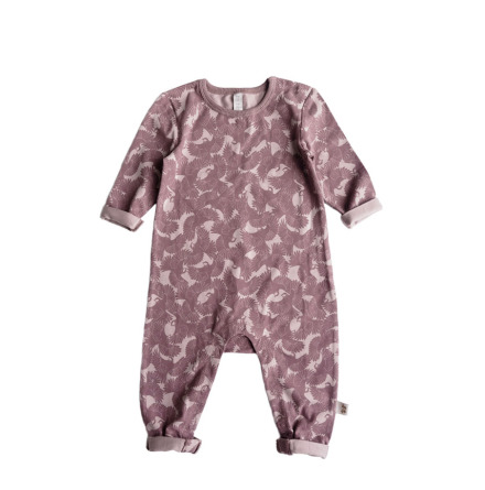 By Heritage Oskar Playsuit Old Pink