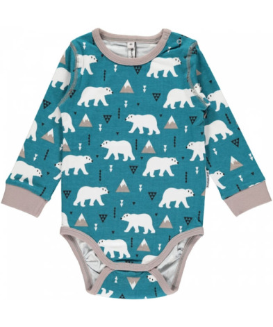 Maxomorra Body LS Polar Bear