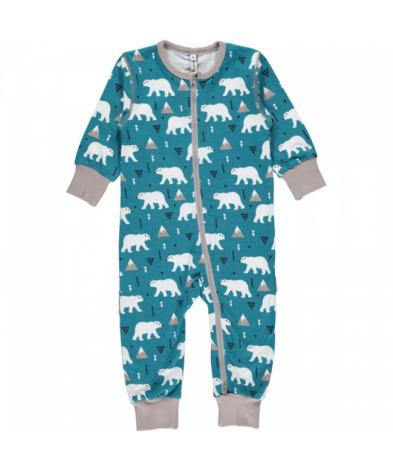 Maxomorra Pyjamas LS Polar Bear