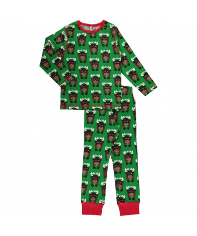 Maxomorra Pyjamas Set LS Moose
