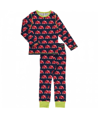Maxomorra Pyjamas Set LS Fire Truck