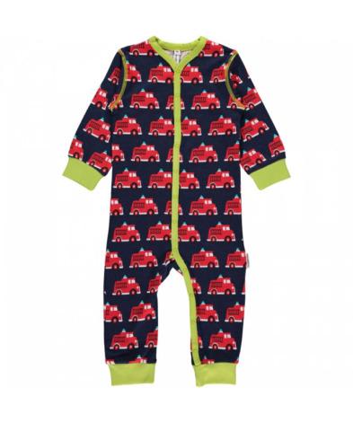 Maxomorra Pyjamas LS Fire Truck