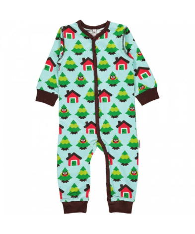 Maxomorra Pyjamas LS Forest