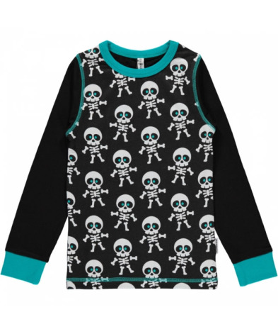 Maxomorra Top LS Skeleton