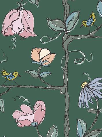 Modeerska Huset Babydress Tree Walk