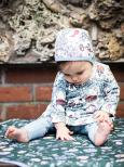 Modeerska Huset Baby Mössa Garden Dreams/Nuts