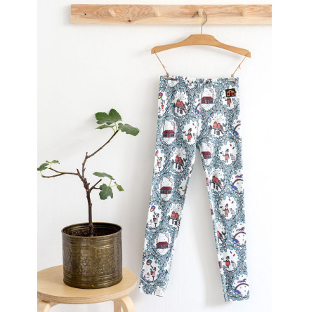 Modeerska Huset Leggings Garden Dreams