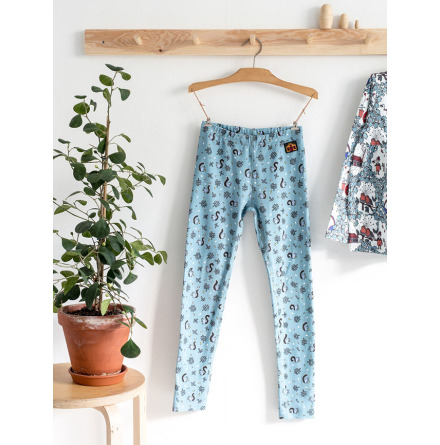 Modeerska Huset Leggings Nuts