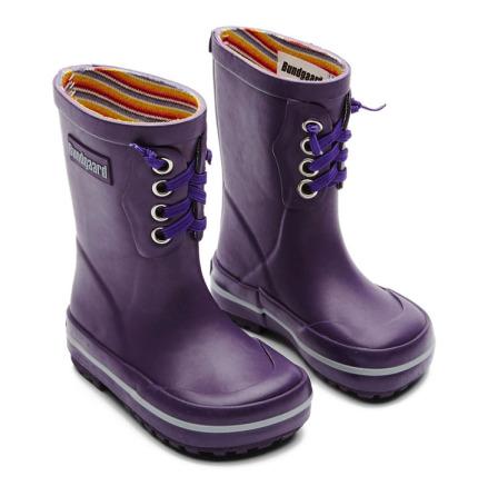 Bundgaard naturgummistövel Purple