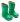 Bundgaard naturgummistövel Bright Green