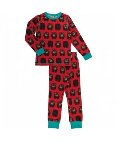 Maxomorra Pyjamas Set LS Bear
