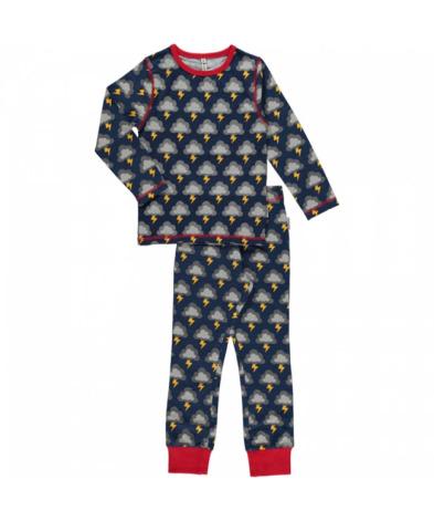 Maxomorra Pyjamas Set LS Lightning