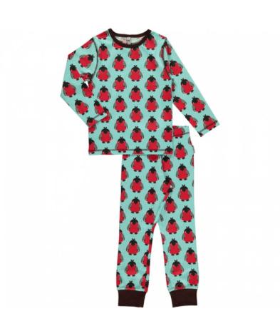 Maxomorra Pyjamas Set LS Bird