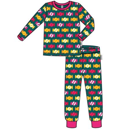 Maxomorra Pyjamas Set LS Candy