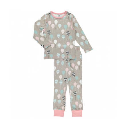 Maxomorra Pyjamas Set LS Balloons