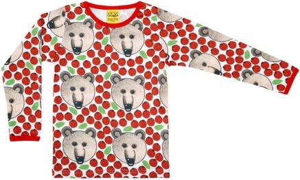 Duns LS Top Bear Red