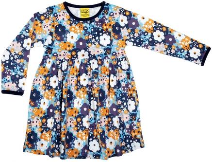 Duns Dress Flower Blue