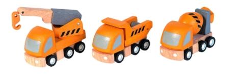 Plan Toys Vägmaskiner Highway