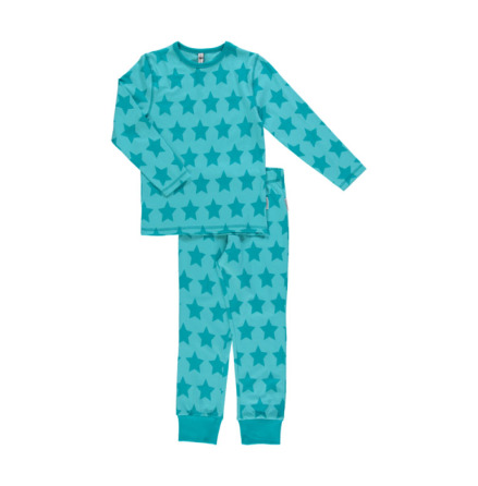 Maxomorra Pyjamas Set LS Stars