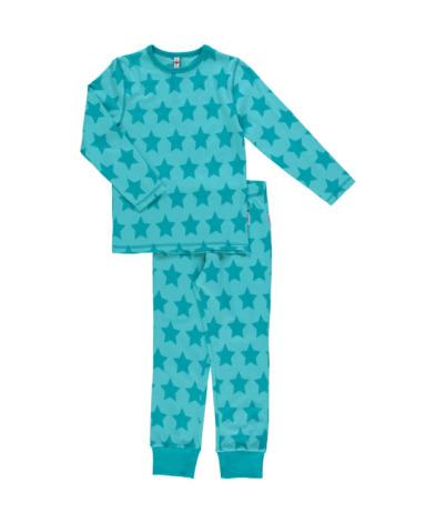 Maxomorra Pyjamas Set LS Stars
