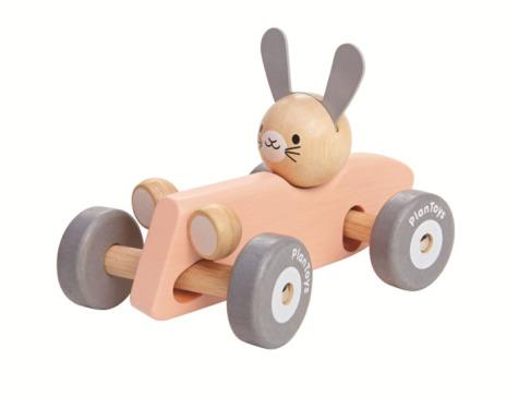 Plan Toys Bunny Racing Car