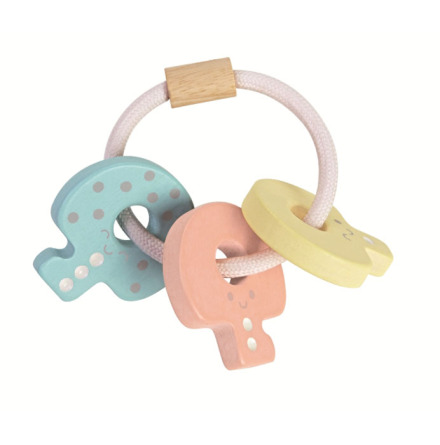 Plan Toys Baby Key Rattle Soft