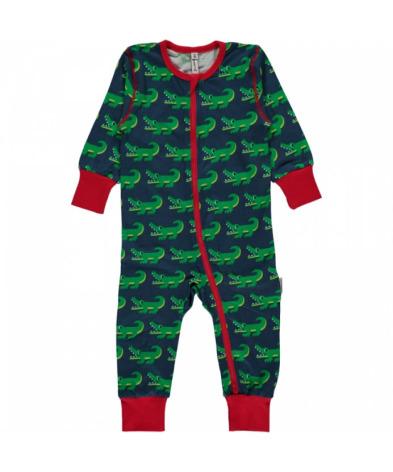 Maxomorra Pyjamas LS Crocodile