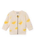 BoBo Choses Sun Zipped Sweatshirt Baby