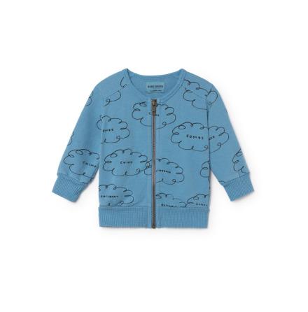 BoBo Choses Clouds Zipped Sweatshirt Baby