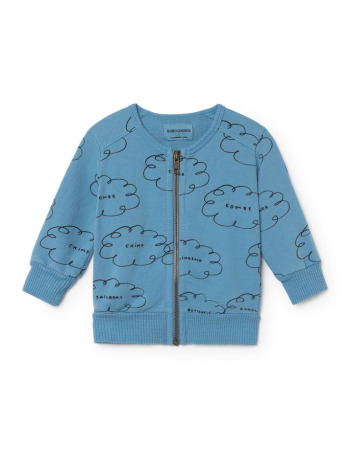 BoBo Choses Clouds Zipped Sweatshirt Baby