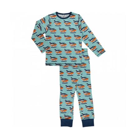 Maxomorra Pyjamas Set LS Sea Plane