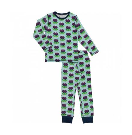 Maxomorra Pyjamas Set LS Crocus